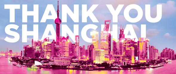 Thank You Shanghai