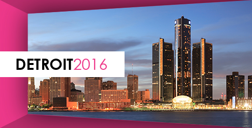 POWER London 2016: Opening Doors for Women. Photo of Detroit skyline